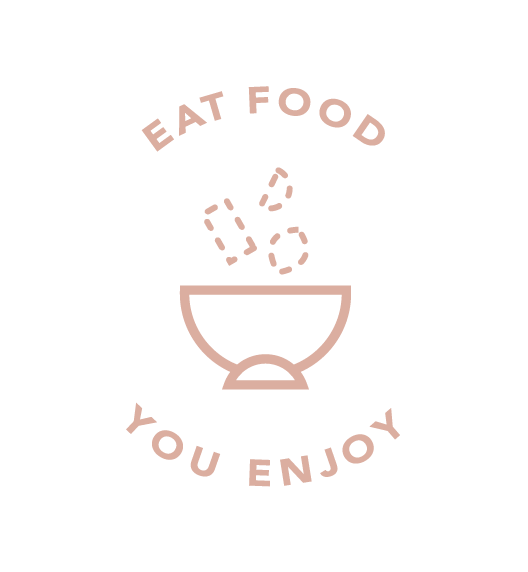Eat food you enjoy icon
